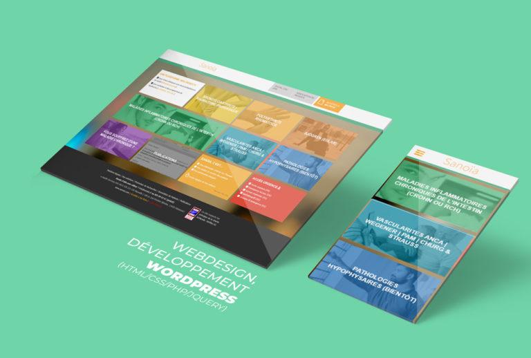 Webdesign, développement sous WordPress